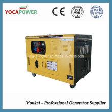 Generador diesel insonorizado de bajo ruido 10kw