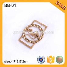 BB01 Пользовательские регулируемые пряжкой Металл Tri-Glide пряжки для мешка