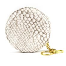 Saco de moedas de logotipo personalizado pequeno saco de moedas de couro