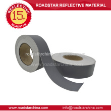High intensity PU backside reflective artificial leather