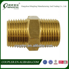 Hex Nipple Air Fittings Brass Fitting