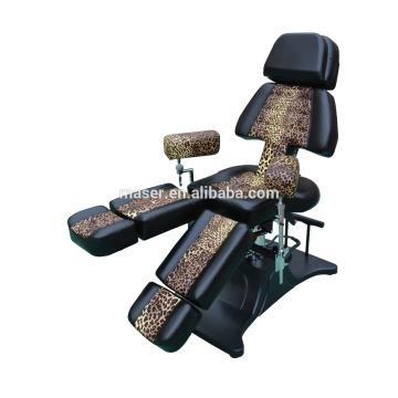 Leopard beleza salão mobiliário, tatuagem massagem cadeira cama