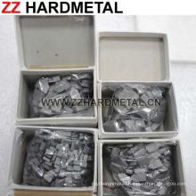 P30 K20 M20 Tungsten Caribde Brazed Insert Tips
