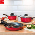 Aluminium Black Antihaft Hot Pot Topf