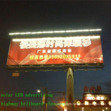 Salable CE outdoor LED-solar billboard lighting;advertising lighting;solar power billboard light with solar panel(JR-960)