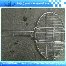 Barbacoa de malla de alambre utilizado en la cantina