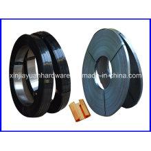Q235 Ruban / Oscillate Wound Black Steel Strapping à vendre