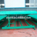 Hydraulic stationary electric wheelchair ramp for cars