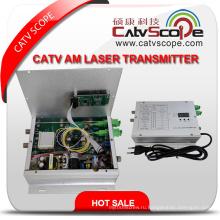 Catvscope кабельного телевидения Оптический передатчик 1310 нм АМ лазера
