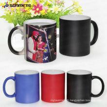 11oz Sublimation Photo Color Changing Mug, Ceramic Magic Mug en gros Direct Manufacturer