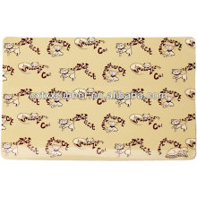 rubber fabric top feeding mats for dogs,cat feeding mats uk