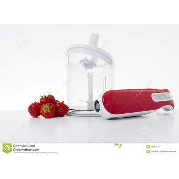 Electric hand blender plastic housing