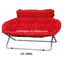 folding double seat moon chair