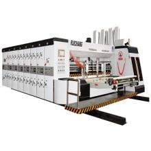 Carton machinery manufacturer automatic 4colors printing slotting machine