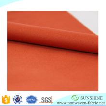 Tela no tejida laminada caliente de la venta (PP + PE) con alta calidad