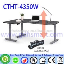 высокотехнологичный офисный стол высота регулируемая исполнительный генеральный директор стол офисный стол роскошный представительский офисный стол