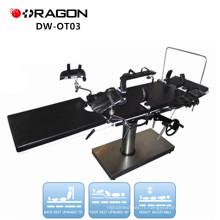 DW-OT03 Table d'opération portable table d'opération des fabricants d'équipement de table ordinaire opreating