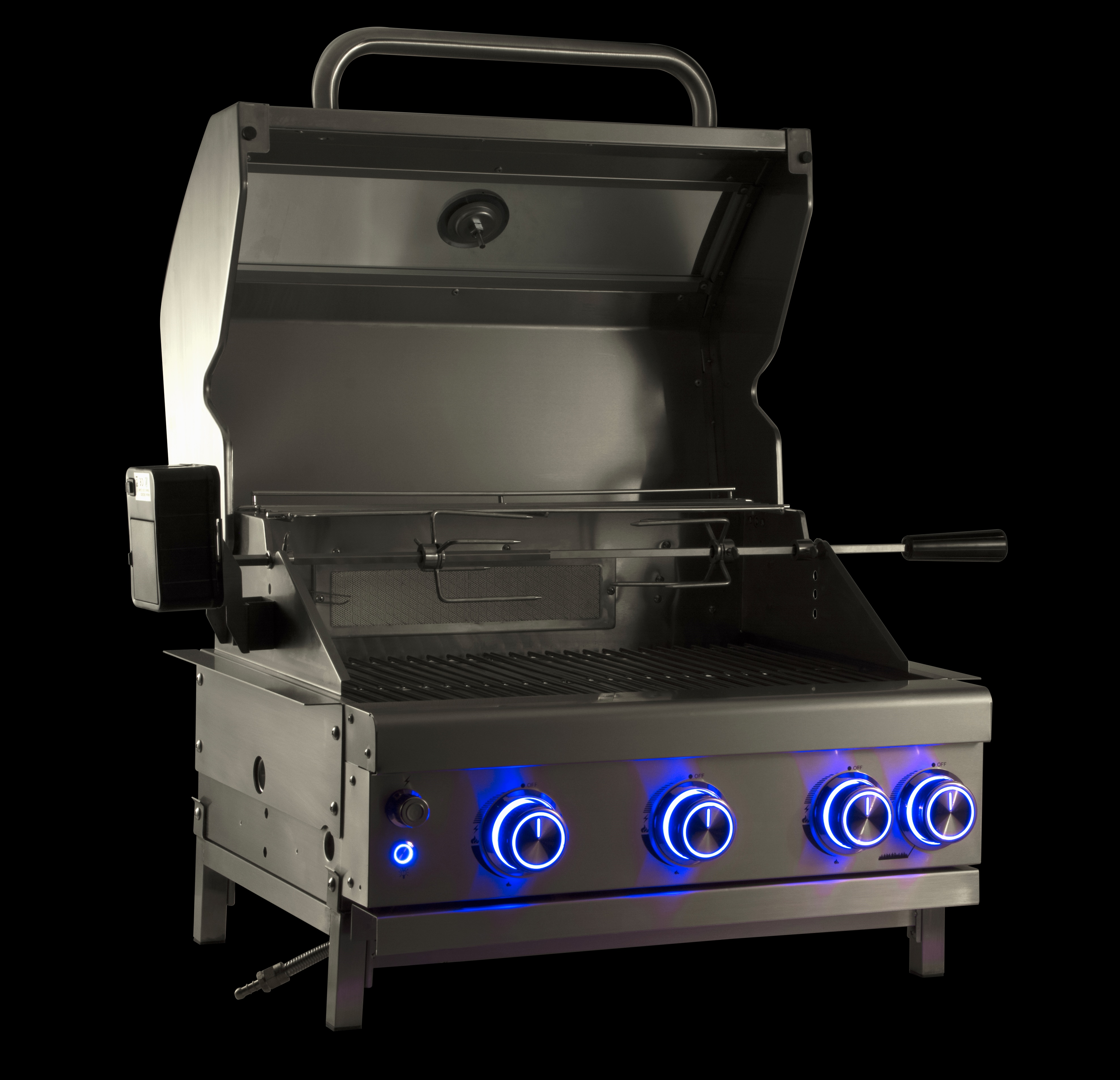 3 Burner Built-In Propane Gas Grill