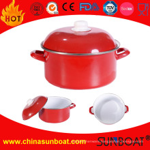 Cast Iron Enamel Casserole Griddle Gratin/Steel Cooking Pot/Cookware Metal Casserole