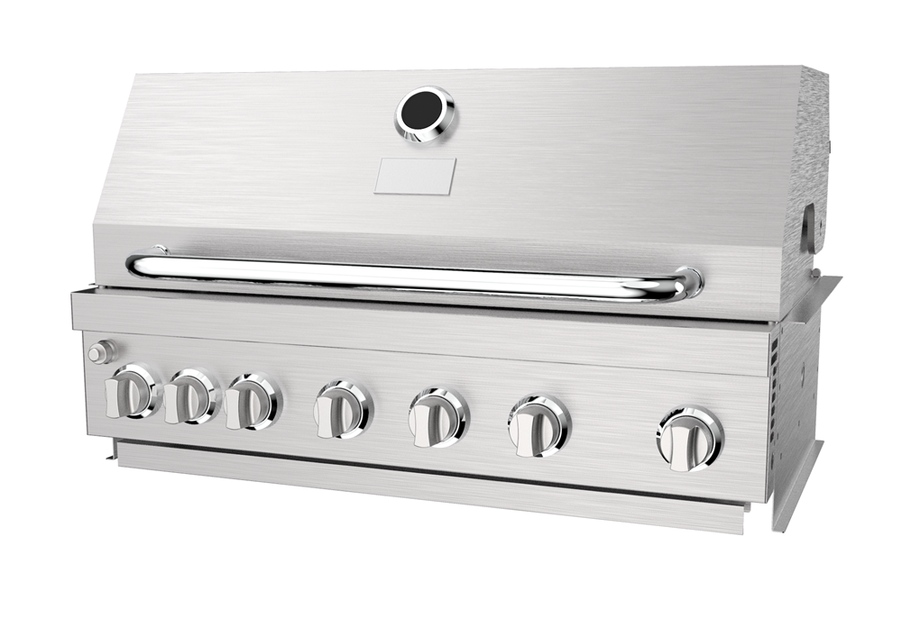 Stainless Steel Built In Barbecue Grill