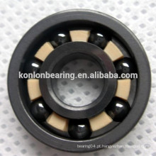 Material Si3N4 6204 6205 rolamento rígido de esferas de cerâmica completa