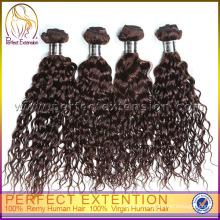 XMAS Curly 100% Virgin Wholesale Human Hair Peruvian Hair Weaving