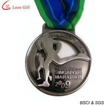 Medalla de maratón personalizado barato de fábrica (LM1252)