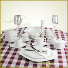 15 PCS Vajilla de cerámica Serie de Tema de Lozenge