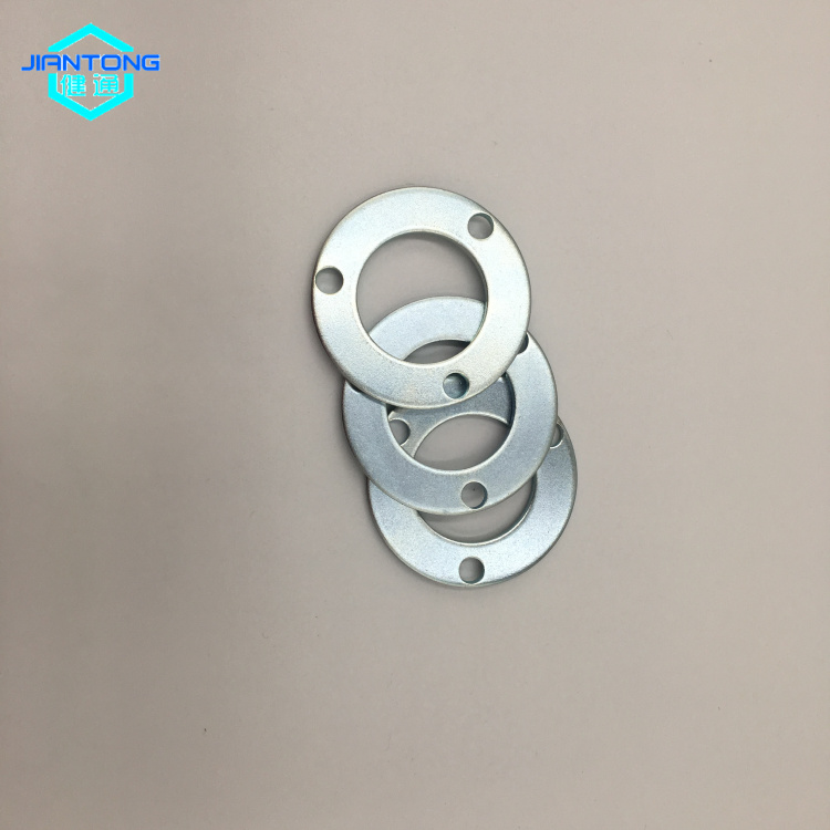 customized factory zinc plated punched metal stamping washer (1)