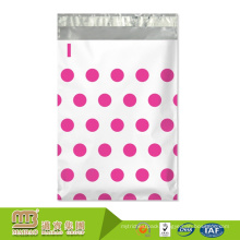 Cheap Price Durable Waterproof Custom Polka Dots Designer Plastic Shipping Packing Garment Poly Bag