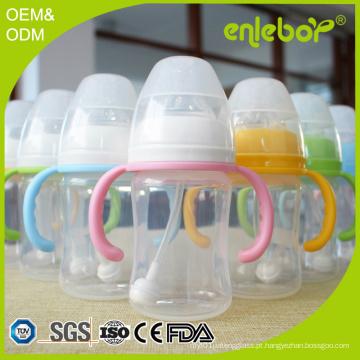 BPA livre de polipropileno fluxo natural recém-nascido bebê alimentador biberão