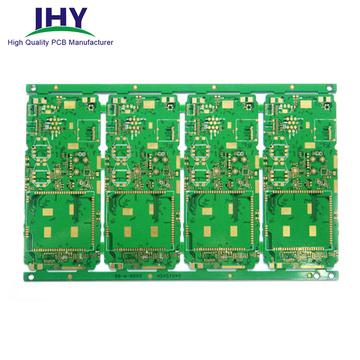 Inmersion Gold 4 Layer ENIG Multicapa Placa de circuito impreso Cobre Enchufe Vias PCB