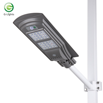 Luz de calle solar integrada de 40w LED