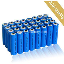 2000mAh Lithium Ion Rechargeable AA Batteries and Charger