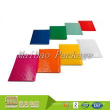 Leichter selbstklebender Streifen-schützender Versand, der kundenspezifische farbige orange Blasen-Umschlag-Versender verpackt