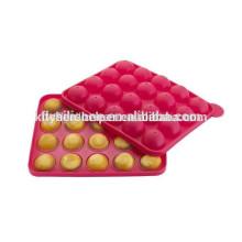 Herramientas de MOLDE de la magdalena del Lollipop del silicón del HQ de la fábrica