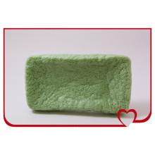 Esponja de konjac 100% natural mais quente Esponja de limpeza facial de chá verde