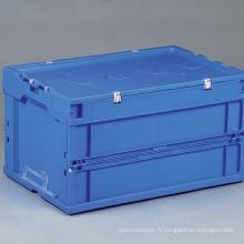 Conteneur de rangement pliable en plastique