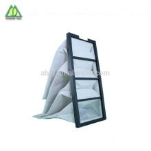 Mittlere Leistungsfähigkeit Industrielle Taschen-Luftfiltertaschenfilter