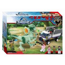 Boutique Baustein Spielzeug für Jurassic Legend Dinosaurier Flucht 05