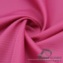 Wasser & Wind-Resistant Outdoor Sportswear Daunenjacke Woven Plaid Jacquard 100% Filament Polyester Stoff (53099)