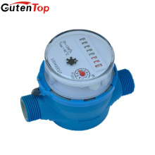 Gutentop роторно-лопастной сух-шкалы Одиночн-двигателя поток воды метр