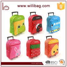 Wholesale Cartoon Kids School Trolley Bag With Wheels