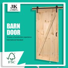 JHK-SK07 Ultimo design interno decorativo porta di legno Barn