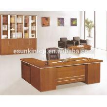Mesa de escritório de boa qualidade, uma recepção e uma mesa lateral, tamanho personalizado
