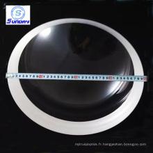 Verres optiques de dôme en verre en ventes