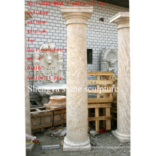 Surface Polished Antique Stone Sculpture Column (SY-C009)