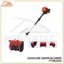 Powertec 1700W 52cc Gasoline Mini Snow Blower (PTNB5200)
