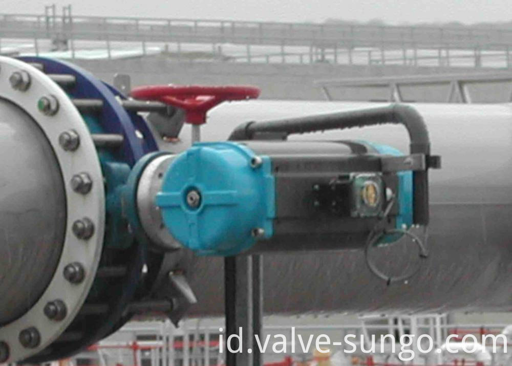 Solf seal butterfly valve application