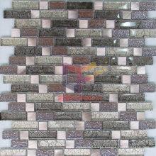 Glass Mix Metal Art Mosaic (GF255)